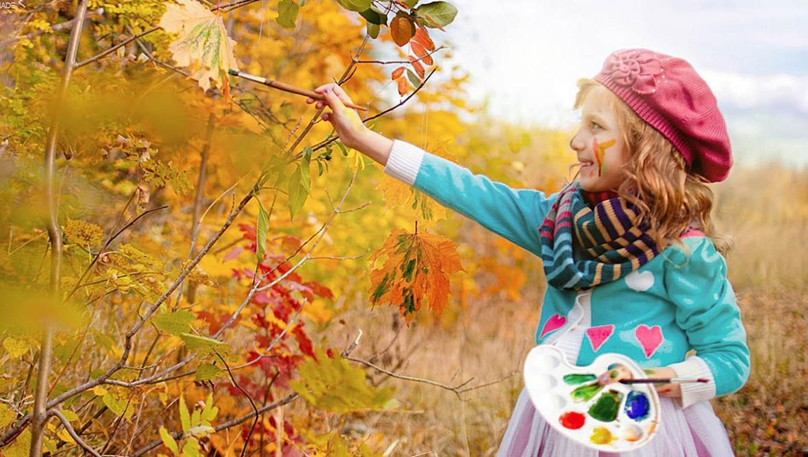 картинки для дошкольников по теме осень